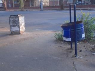Figure 5.2 Typical example of an existing bin systems in Harare