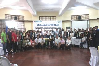 Delegates of the SUEUAA international forum