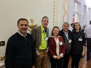Members of SUEUAA team at British Academy
