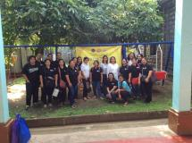 PNU health clinic staff at orphanage in Manila