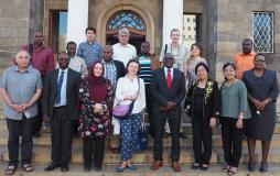 SUEUAA team shares insights with City of Harare officials