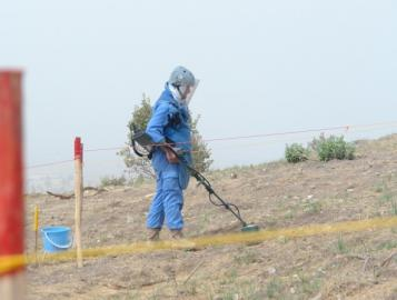 Source: Landmines Department- Duhok Governate- Iraq